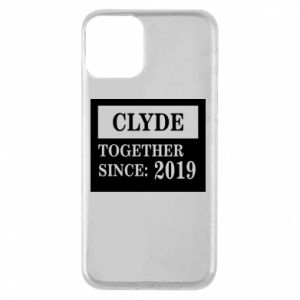 Phone case for iPhone 11 Clyde Together since: 2019 - PrintSalon