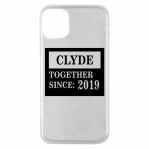 Phone case for iPhone 11 Pro Clyde Together since: 2019 - PrintSalon