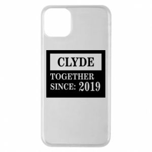 Phone case for iPhone 11 Pro Max Clyde Together since: 2019 - PrintSalon
