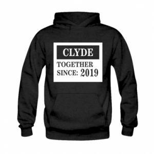 Bluza z kapturem dziecięca Clyde Together since: 2019