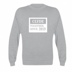 Bluza dziecięca Clyde Together since: 2019