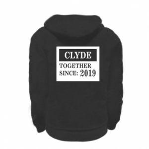 Bluza na zamek dziecięca Clyde Together since: 2019