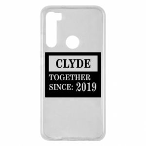 Etui na Xiaomi Redmi Note 8 Clyde Together since: 2019