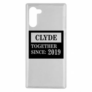 Etui na Samsung Note 10 Clyde Together since: 2019