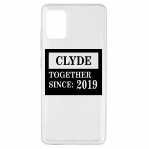 Etui na Samsung A51 Clyde Together since: 2019