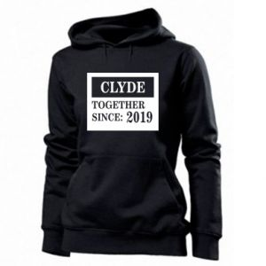 Women's hoodies Clyde Together since: 2019 - PrintSalon