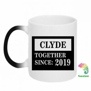 Kubek-kameleon Clyde Together since: 2019