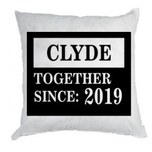 Poduszka Clyde Together since: 2019