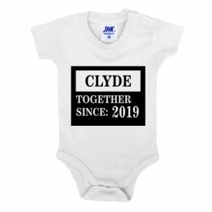 Baby bodysuit Clyde Together since: 2019 - PrintSalon