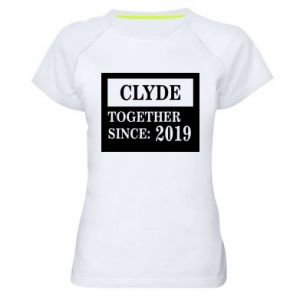 Women's sports t-shirt Clyde Together since: 2019