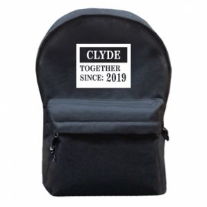 Backpack with front pocket Clyde Together since: 2019 - PrintSalon