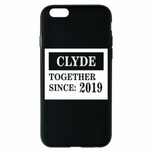 Phone case for iPhone 6/6S Clyde Together since: 2019 - PrintSalon