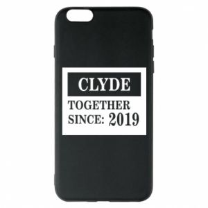 Phone case for iPhone 6 Plus/6S Plus Clyde Together since: 2019 - PrintSalon