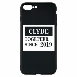 Phone case for iPhone 7 Plus Clyde Together since: 2019 - PrintSalon
