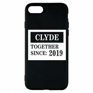 Phone case for iPhone 8 Clyde Together since: 2019 - PrintSalon