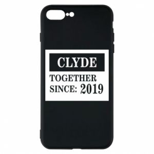 Phone case for iPhone 8 Plus Clyde Together since: 2019 - PrintSalon