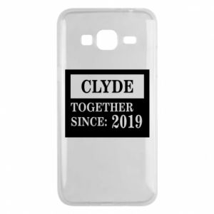 Phone case for Samsung J3 2016 Clyde Together since: 2019
