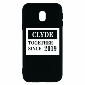 Phone case for Samsung J3 2017 Clyde Together since: 2019