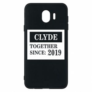 Phone case for Samsung J4 Clyde Together since: 2019