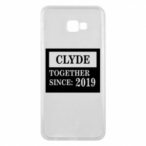Phone case for Samsung J4 Plus 2018 Clyde Together since: 2019 - PrintSalon