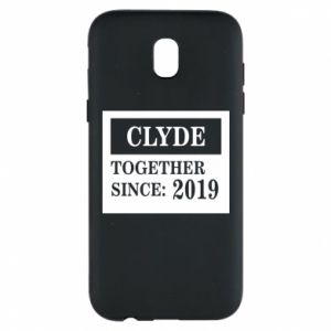 Phone case for Samsung J5 2017 Clyde Together since: 2019