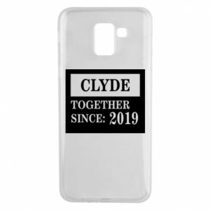 Phone case for Samsung J6 Clyde Together since: 2019