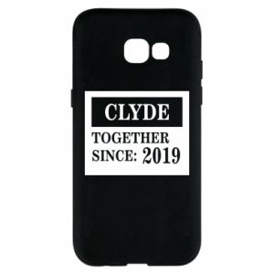 Phone case for Samsung A5 2017 Clyde Together since: 2019 - PrintSalon