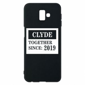 Phone case for Samsung J6 Plus 2018 Clyde Together since: 2019 - PrintSalon