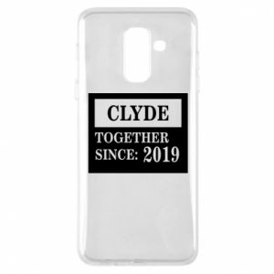 Phone case for Samsung A6+ 2018 Clyde Together since: 2019 - PrintSalon