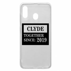 Phone case for Samsung A20 Clyde Together since: 2019 - PrintSalon