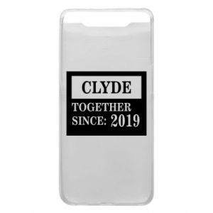 Phone case for Samsung A80 Clyde Together since: 2019 - PrintSalon