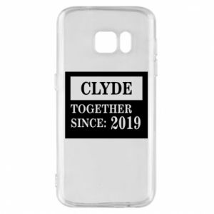 Phone case for Samsung S7 Clyde Together since: 2019 - PrintSalon