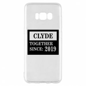Phone case for Samsung S8 Clyde Together since: 2019 - PrintSalon