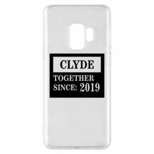 Phone case for Samsung S9 Clyde Together since: 2019 - PrintSalon