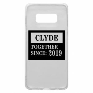 Phone case for Samsung S10e Clyde Together since: 2019 - PrintSalon