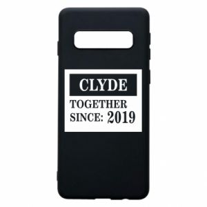 Phone case for Samsung S10 Clyde Together since: 2019 - PrintSalon