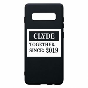 Phone case for Samsung S10+ Clyde Together since: 2019 - PrintSalon