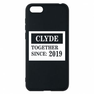 Phone case for Huawei Y5 2018 Clyde Together since: 2019 - PrintSalon