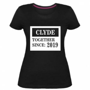Women's premium t-shirt Clyde Together since: 2019