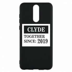 Phone case for Huawei Mate 10 Lite Clyde Together since: 2019 - PrintSalon