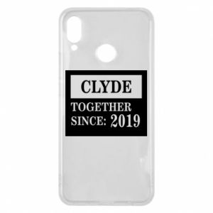 Phone case for Huawei P Smart Plus Clyde Together since: 2019 - PrintSalon
