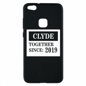 Phone case for Huawei P10 Lite Clyde Together since: 2019 - PrintSalon