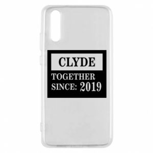 Phone case for Huawei P20 Clyde Together since: 2019 - PrintSalon