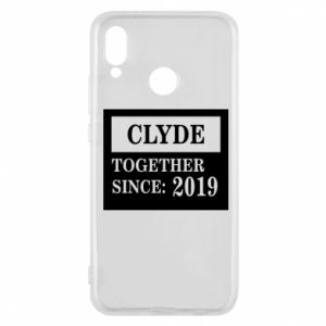 Phone case for Huawei P20 Lite Clyde Together since: 2019 - PrintSalon