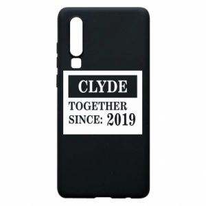 Phone case for Huawei P30 Clyde Together since: 2019 - PrintSalon