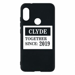 Phone case for Mi A2 Lite Clyde Together since: 2019 - PrintSalon