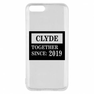 Phone case for Xiaomi Mi6 Clyde Together since: 2019 - PrintSalon