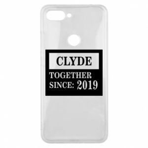 Phone case for Xiaomi Mi8 Lite Clyde Together since: 2019 - PrintSalon