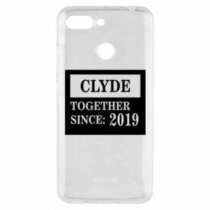 Phone case for Xiaomi Redmi 6 Clyde Together since: 2019 - PrintSalon