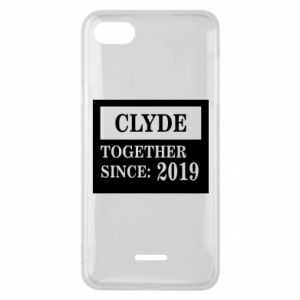 Phone case for Xiaomi Redmi 6A Clyde Together since: 2019 - PrintSalon